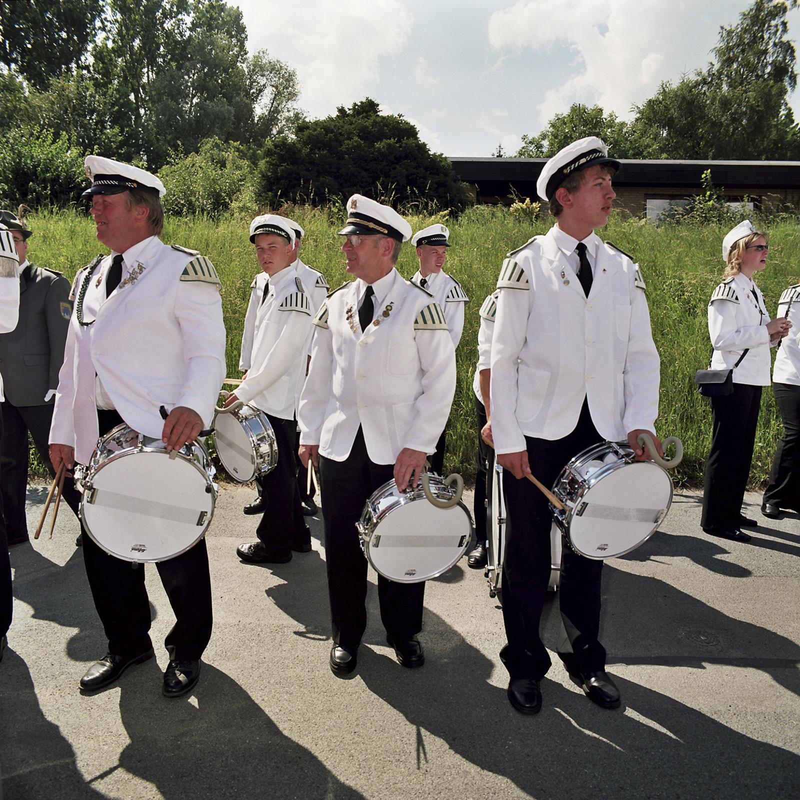 Schuetzenfest in Hemmoor, Norddeutschland