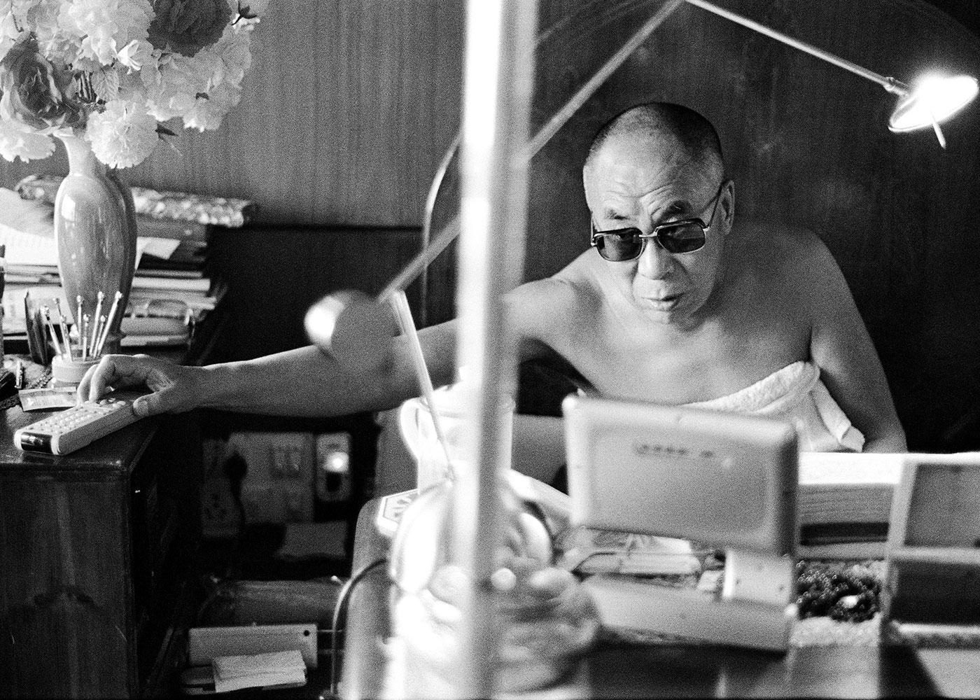 Dalai-Lama, Indien © Manuel Bauer