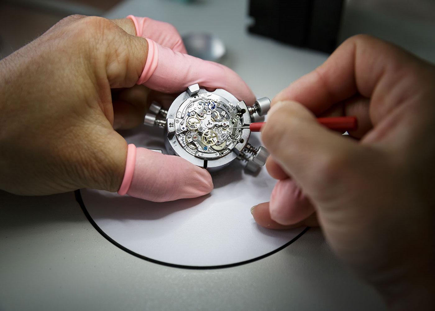 Zenith Uhrenwerken in Le Locle, Schweiz © Fabian Fiechter