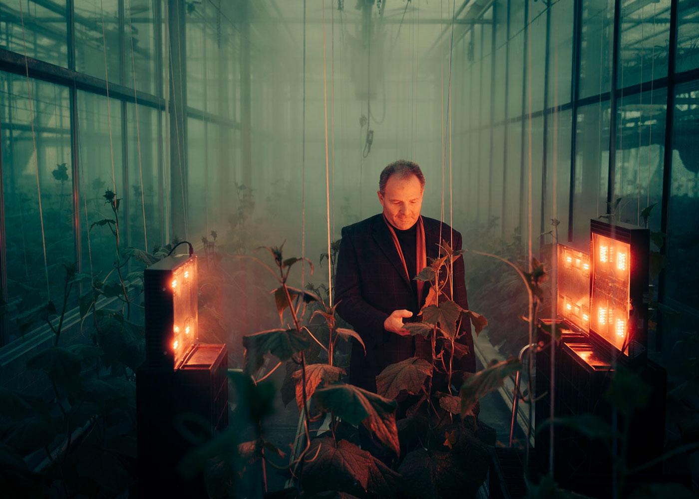 Prof. Dr. agr. Prof h. c. Fritz-Gerald Schröder, Fachbereich Landbau/Landschaftspflege an der HTW Dresden © Sven Döring