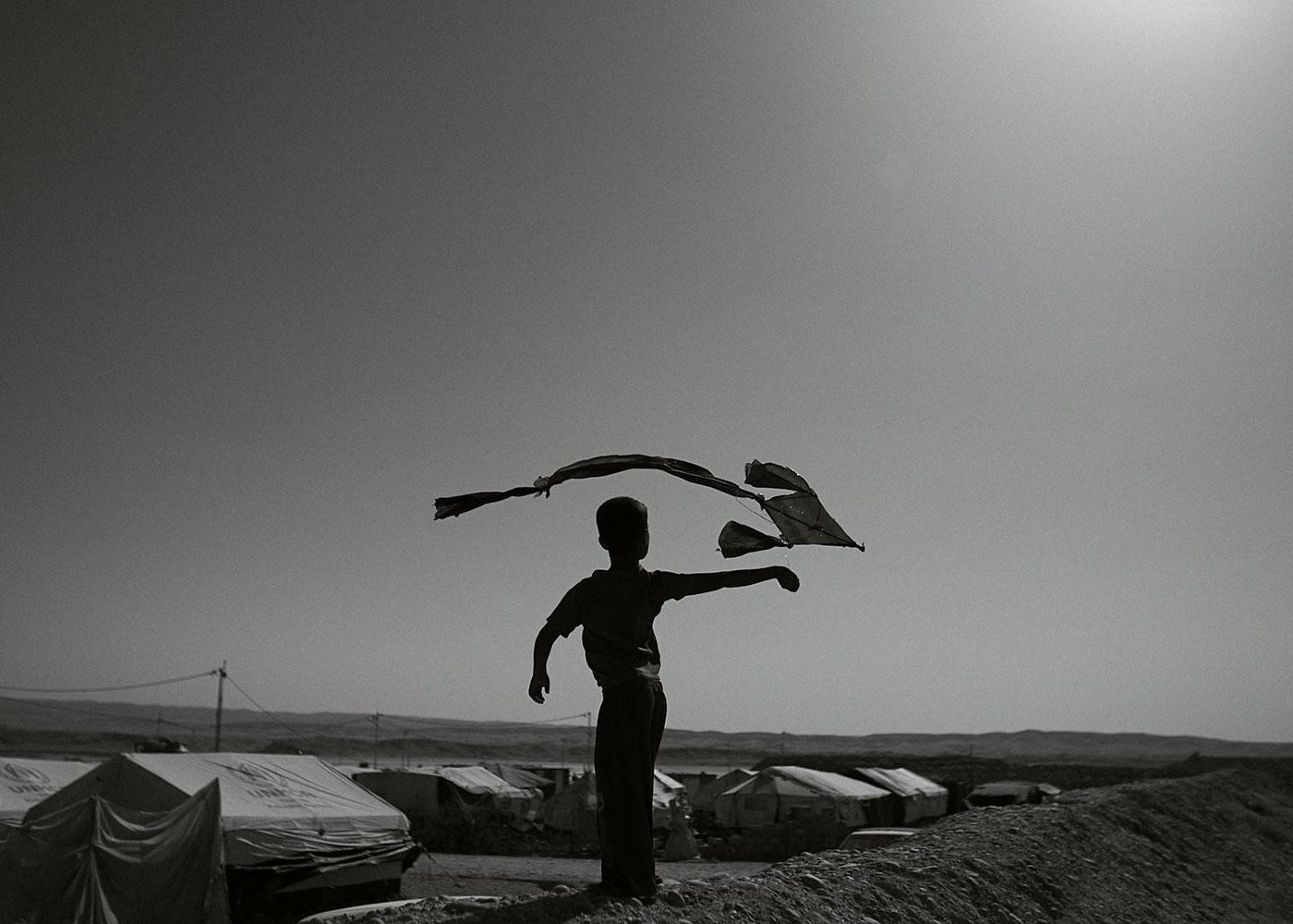 Flüchtlingslager für sunnitische Flüchtlinge, Irak © Mark Mühlhaus