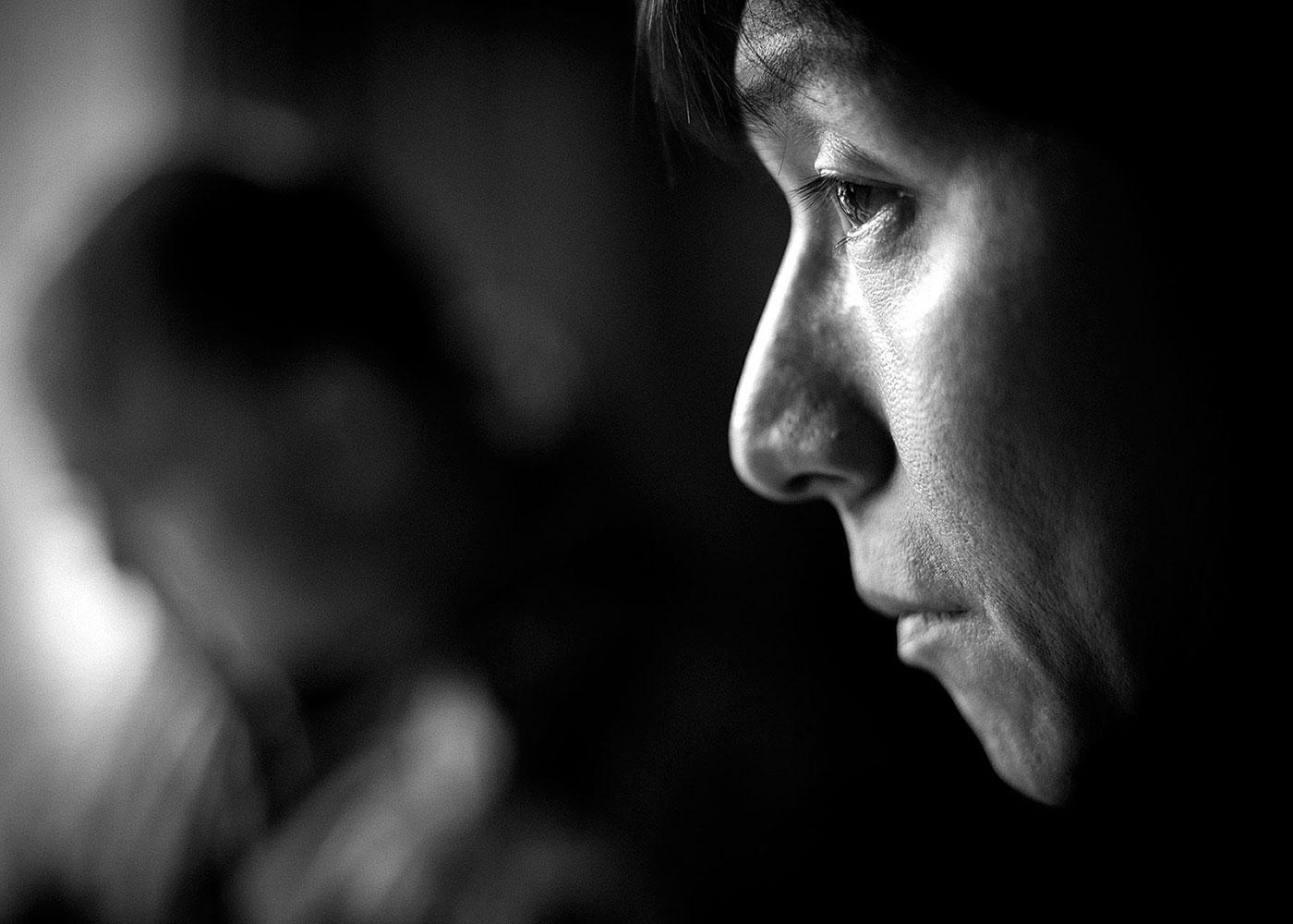 Kenta besucht das Haus seiner Familie, Fukushima © Daniel Müller