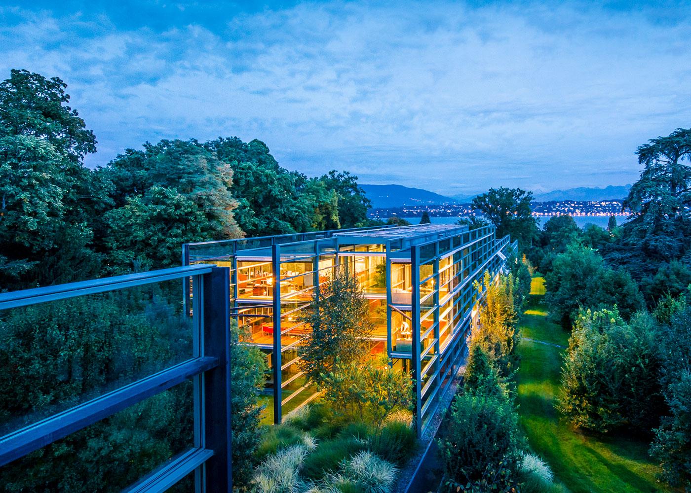Headquarter Richemont, Schweiz © Olaf Tamm
