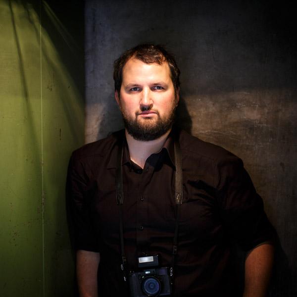 Portrait von Fotojournalist Fabian Fiechter