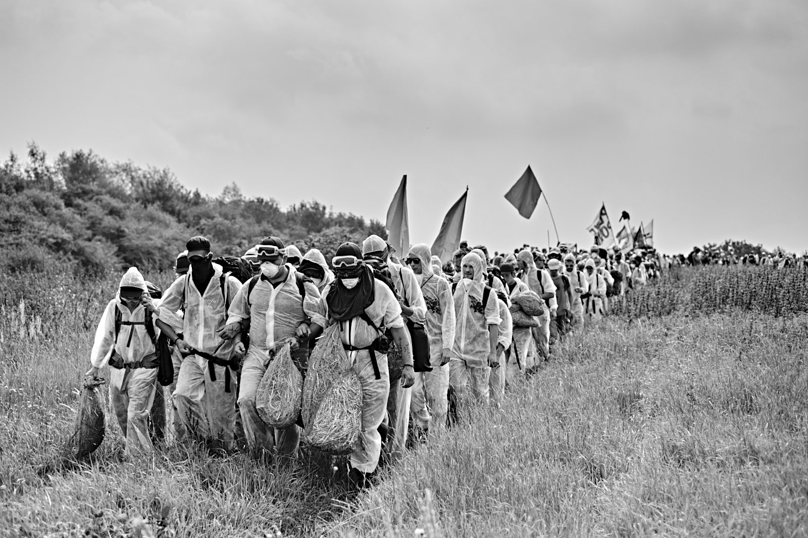 Klimawandel – Proteste gegen Braunkohle / Climate change – protests against brown coal