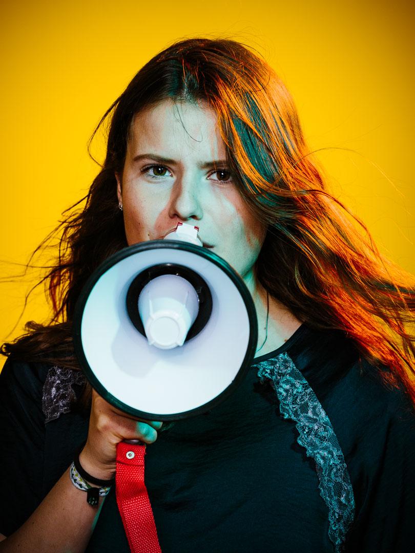 Luisa Neubauer, Klimaaktivistin, 2019