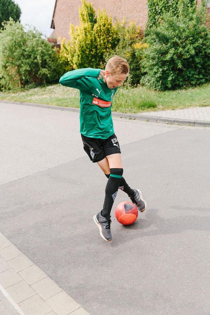 """""""Die Fohlen"""", Jugendteam Borussia Mönchengladbach"""