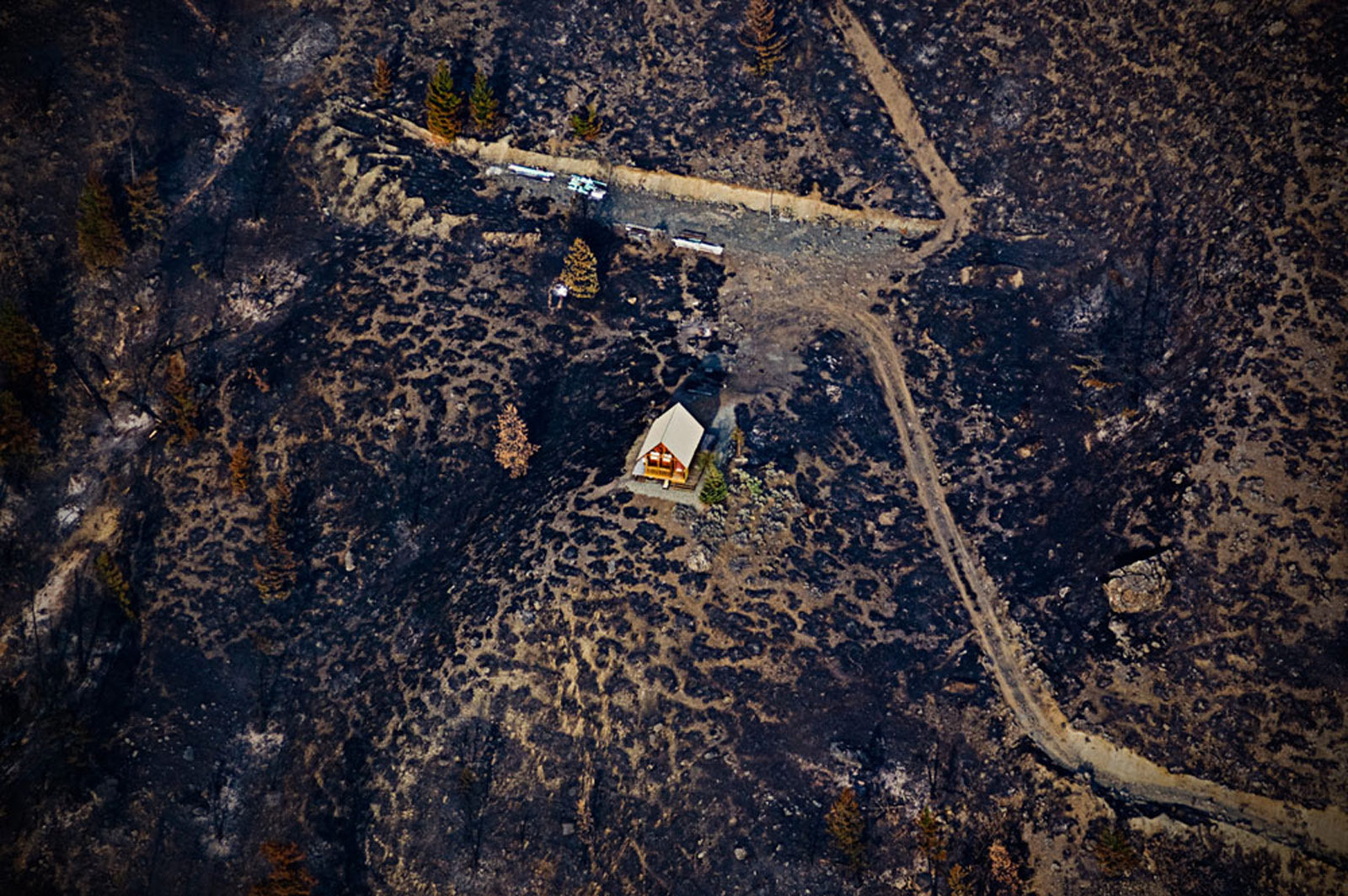 Waldbrand, Kanada © Kollektiv25