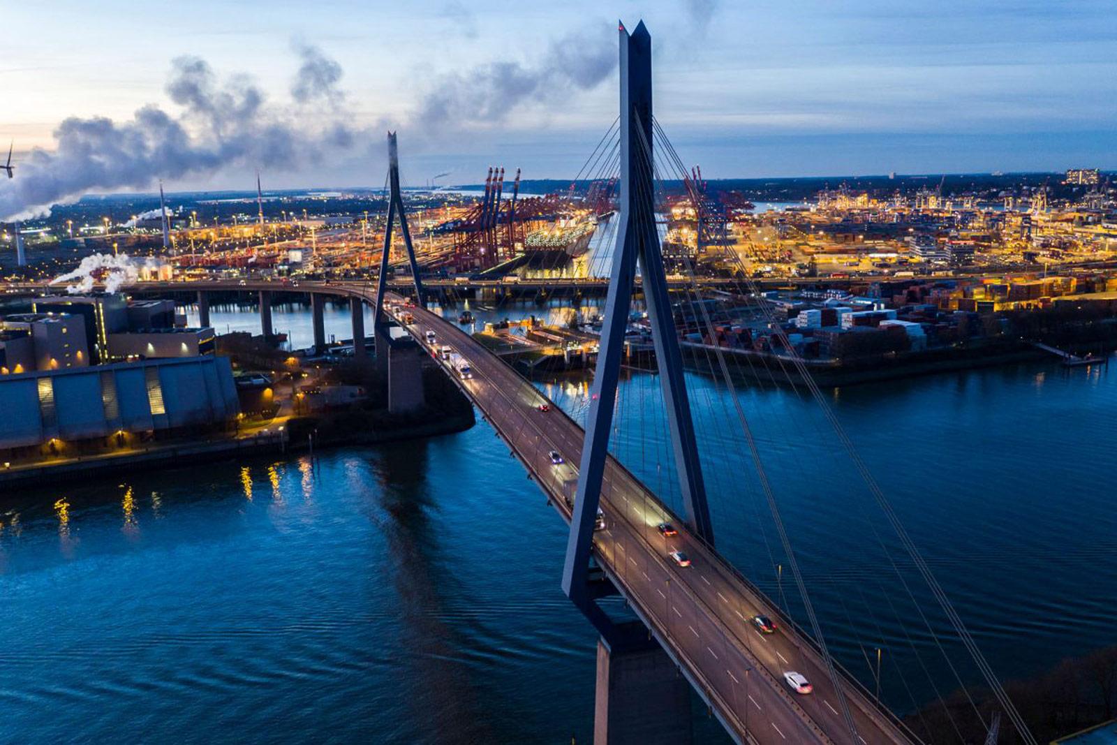 Köhlbrandbrücke, Hamburg © Kollektiv25