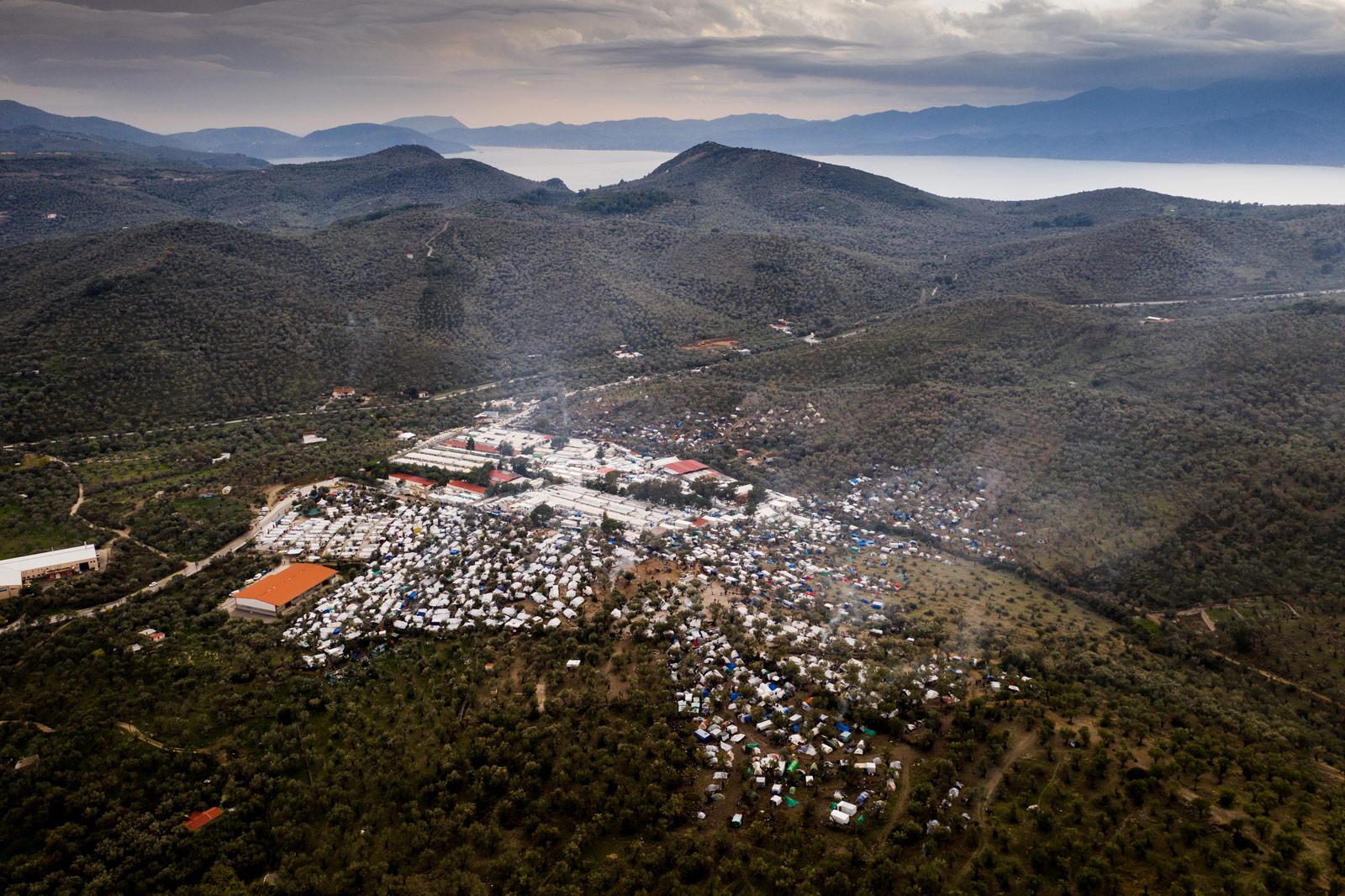 Flüchtlingslager Moria, Griechenland © Kollektiv25