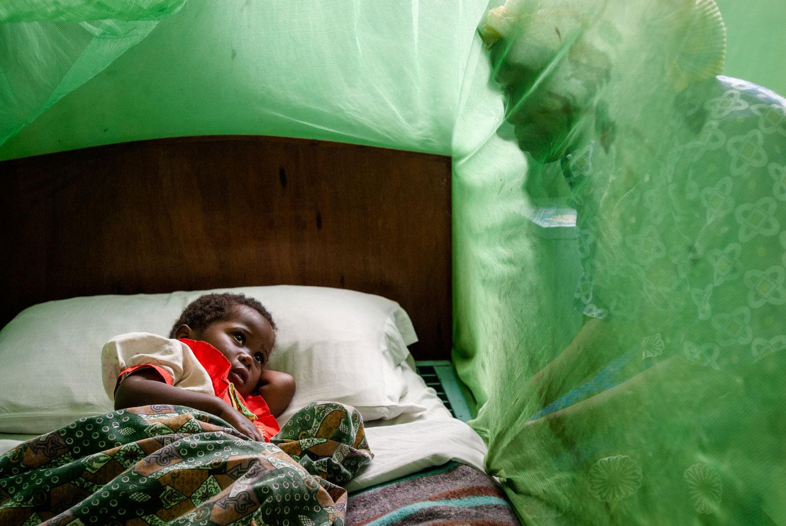 Malaria in Malawi für Unicef Schweiz