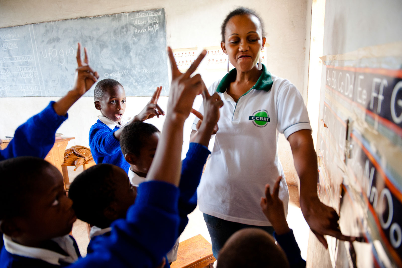 Aus der Serie: Taubstumm in Tansania für Christoffel Blindenmission
