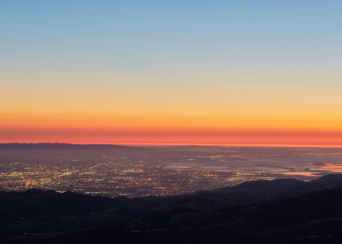 Blicke über das Silicon Valley, Bay Area.©Enno Kapitza/Agentur Focus